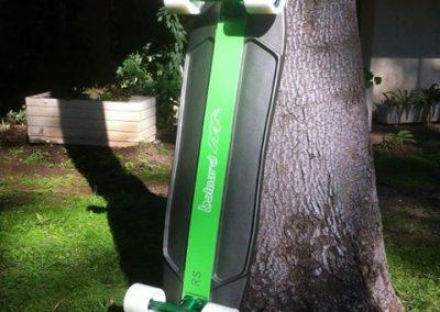 Longboard de fibra de carbono