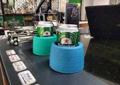 Prototipo para mantener frías las bebidas